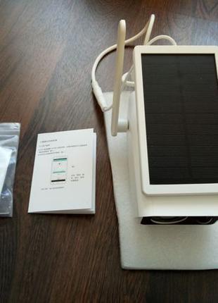 Беспроводная IP видеокамера на солнечной батареи