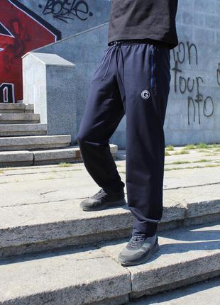 Прямые спортивные штаны