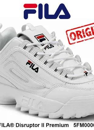 Кроссовки женские FILA Disruptor II Premium original из USA