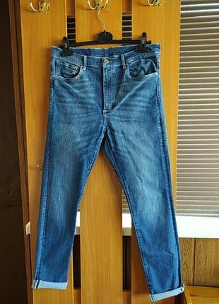 Супер женские джинсы с высокой посадкой &denim
