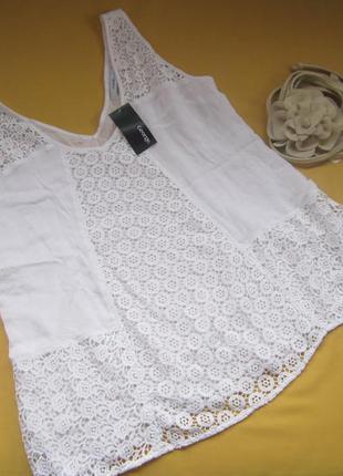 Новая красивая блузка,кофточка,майка george,европейск. р.40,индия