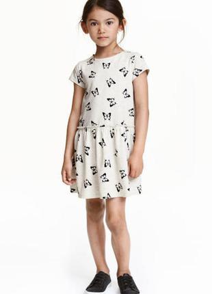 6-8лет.летнее платье в бабочки.
