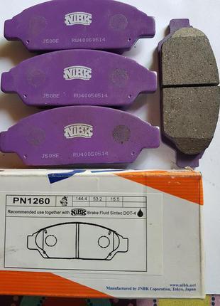 Тормозные колодки Передние NIBK PN1260  (Camry.Vista)