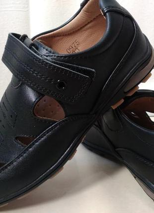 Кожаные туфли мокасины на мальчика 33,34,37,38 р.