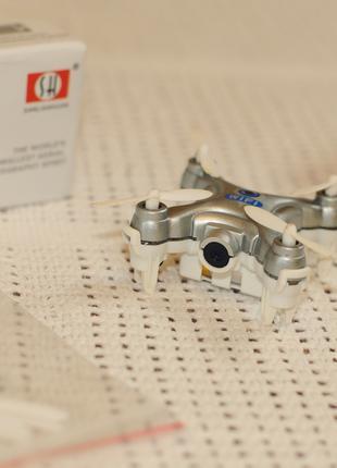 Мини квадрокоптер CX-10W