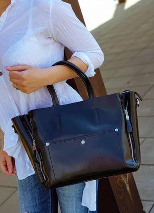 Большая женская кожаная сумка распродажа