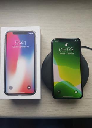  IPHONE X Neverlock 64 GB +Безпровідна зарядкаУжгород, Мукачево