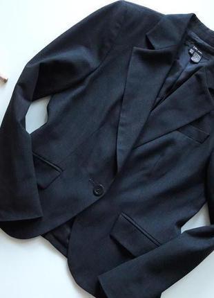 Темно-серый базовый пиджак