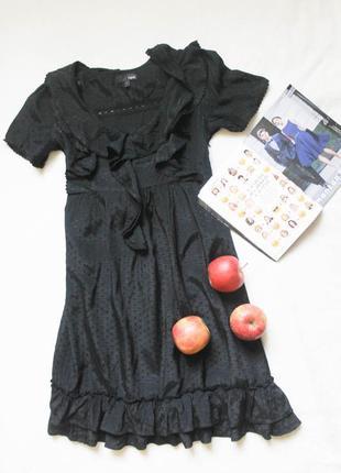 Платье рюши от next, размер xs-s.
