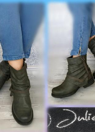 40р зимние ботинки в идеале польша juliet эко кожа