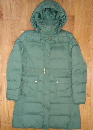 Женское пальто пуховик tommy hilfiger куртка