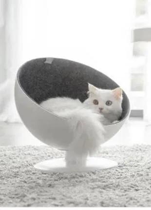 Кошачий лежак Кровать Xiaomi Furry Tail Cat Boss
