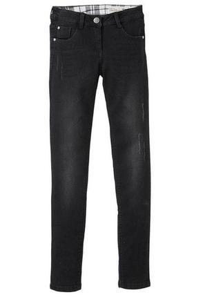 Стильные джинсы для девочки скини р.164, 13-14 лет pepperts ге...