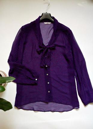 Очень легкая шифоновая блуза 18