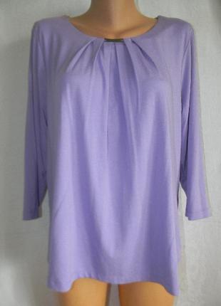 Новая нежная трикотажная блуза