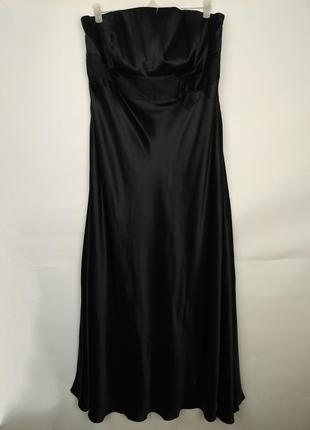 Платье шикарное новое шелковое большого размера 100% шелк! mon...