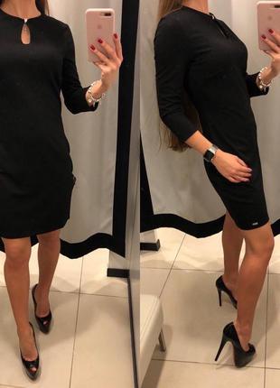 Трикотажное платье футляр mohito