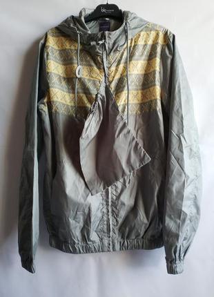 Мужская подростковая куртка ветровка французского бренда promo...
