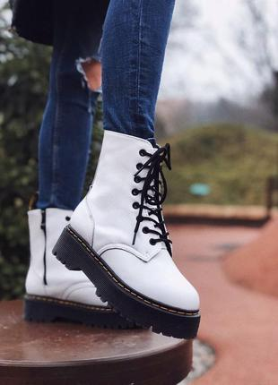 Зимние женские ботинки dr. martens 📢