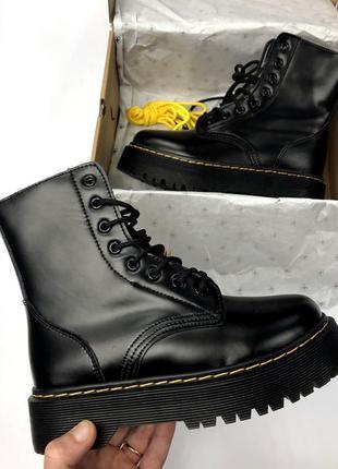 Крутые зимние женские ботинки топ качество dr. martens ✨