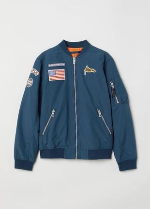 Курточка вітрівка бомбер для хлопчиків від h&m німеччина