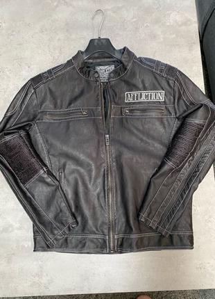 куртка Affliction/L кожзам