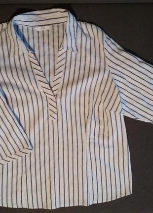 Стильная рубашка. для пышных красоток. большой размер. блузка
