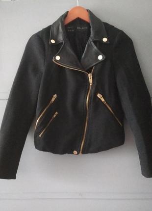 Крутая косуха. деми куртка