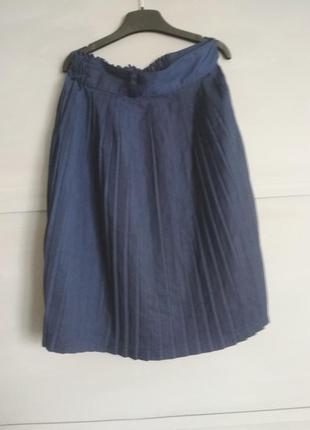 Актуальная плиссированая юбка. плиссировка. юбка в складову. п...