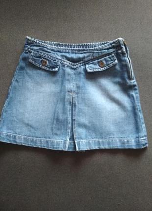 Крутая юбочка. джинсовая юбка.
