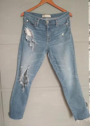 Рваные джинсы. гэп. крутые джинсы.  гап. скинни.  не обработан...