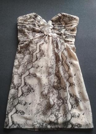 Вечернее платье.  питон.  змея. мини платье. сексуальные плать...