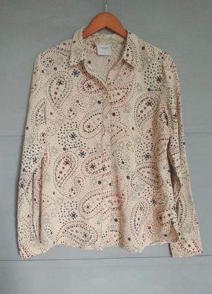 Стильная женская рубашка. лёгкая,  летняя рубашка. вискоза