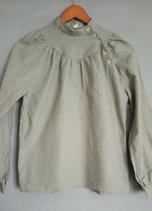 Оригинальная рубашка. рубашка в клеточку . блуза . оригинальны...