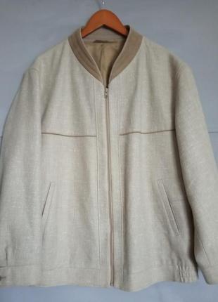 Шикарный мужской бомбер . деми куртка. мужская курточка. для м...