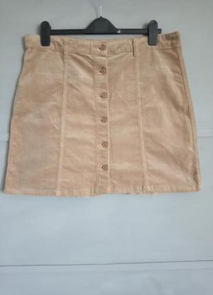 Актуальная юбка. юбка трапеция. рубчик . большой размер. батал