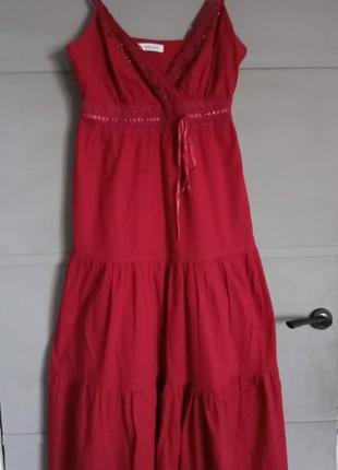 Яркий сарафан. макси платье. длинный сарафан.