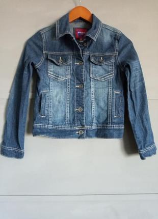 Крутая джинсовка, джинсовая куртка, курточка на девочку