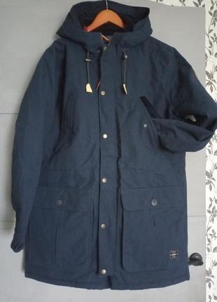 Зимняя куртка. теплая парка . o'neill. брендовая куртка