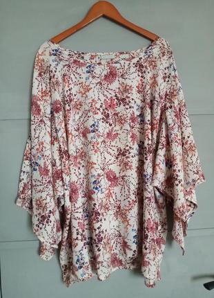 Стильная блуза . большой размер. батал . интересный крой