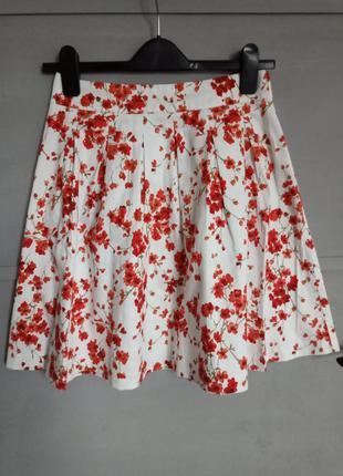 Нереальная юбка. юбка миди . красивая юбка . принт