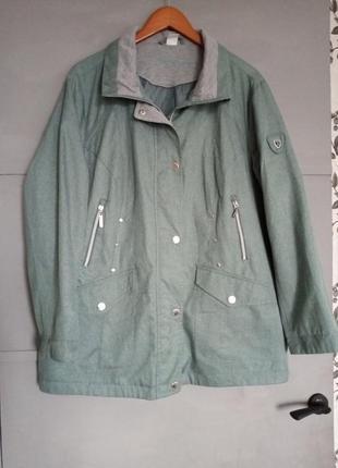 Женская куртка. большой размер. батал. королевский размер