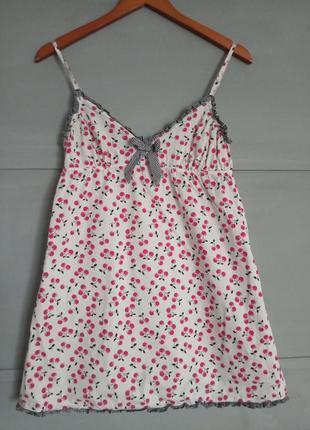Короткая ночная сорочка . ночнушка.  туника. домашняя одежда ....