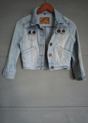 Крутая джинсовка. укороченная джинсовая куртка. джинс. джинсов...