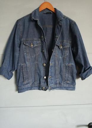 Крутая джинсовка . отличная джинсовая куртка. курточка. джинсо...
