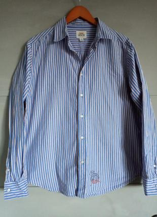 Брендовая рубашка. рубашка в полоску. левис. левайс. рубашка в...
