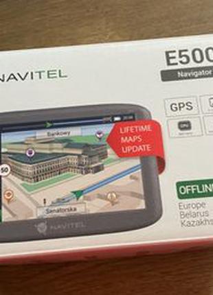 GPS навигатор Navitel E500 - полный комплект
