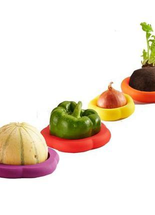 Силиконовые крышки для хранения овощей Германия