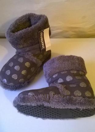 Детские тапочки сапожки для дома /садика 30, 33 р. теплые и пр...