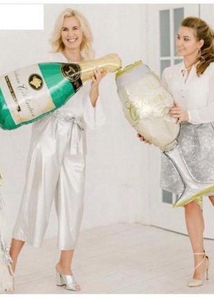 Воздушные шары Шампанское Бокал